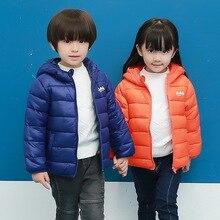 2016 зимой дети куртка толщиной мальчик пальто девушки теплый хлопок проложенный куртка с капюшоном