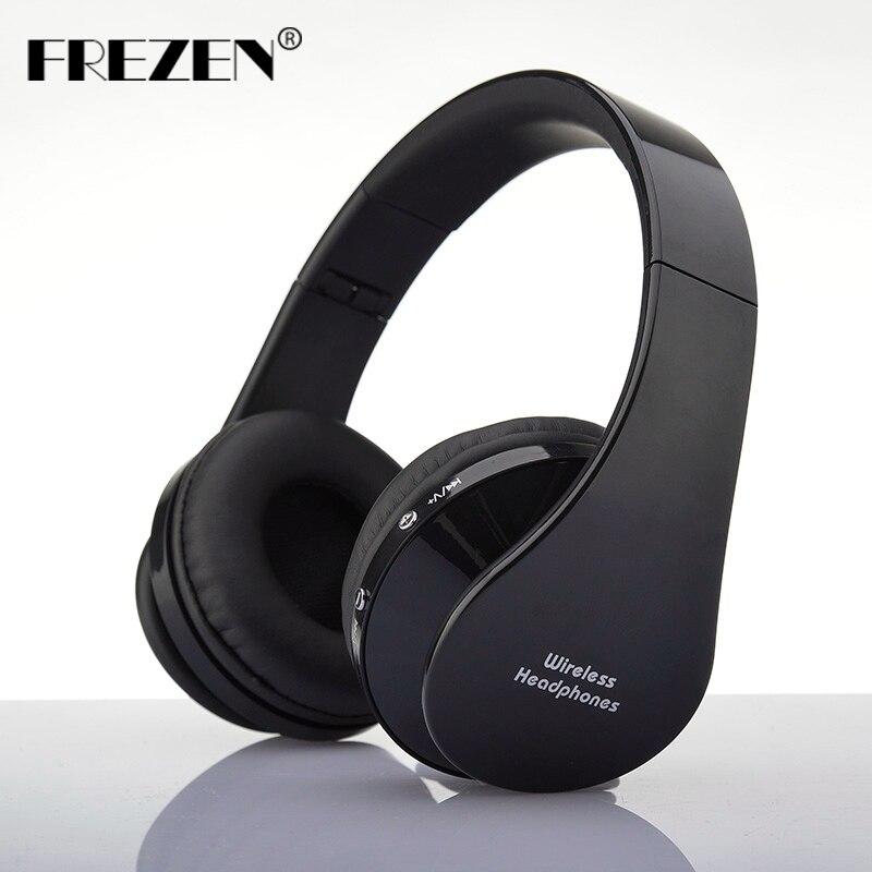 bilder für FREZEN NX-8252 Stereo Bluetooth Kopfhörer V3.0 + EDR Sport Headset Mit Mikrofon Noise Für Smartphone Ipad
