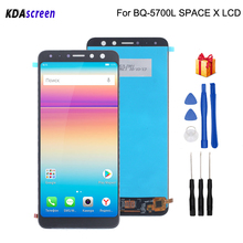 For BQ-5700L SPACE X LCD Display Touch Screen Digitizer Phone Parts For BQ 5700L Screen LCD Replacement Free Tools