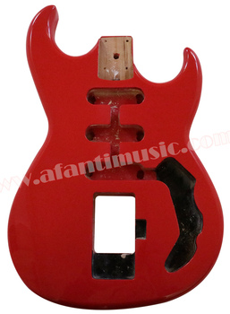 Afanti muzyka DIY gitara zestaw DIY gitara ciała (AQT-001) tanie i dobre opinie Pickup pasywny zamknięty Blokowany klucz LIPA Gitara elektryczna Beginner Do profesjonalnych wykonań Unisex Nauka w domu