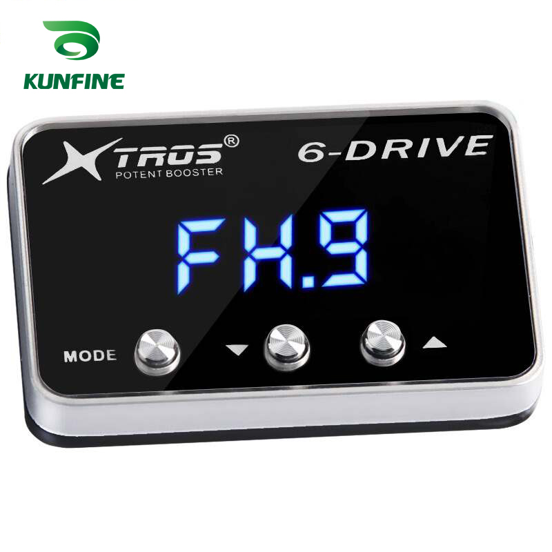 KUNFINE Car Electronic Throttle Controller Racing Accelerator Potent Booster Tuning Parts Accessory For CHEVROLET CRUZE 2009 2010 2011 2012 2013 2014 2015 2016 2017 2018 2019