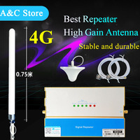 4g signal repeater Cell Phone Mobile Signal booster cellular signal amplifier 1880mhz 1920mhz with high qualtity antenna