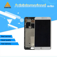 Axisinternational LCD Screen Display Touch Panel Digitizer With Frame For 5 7 Meizu Pro 6 Plus