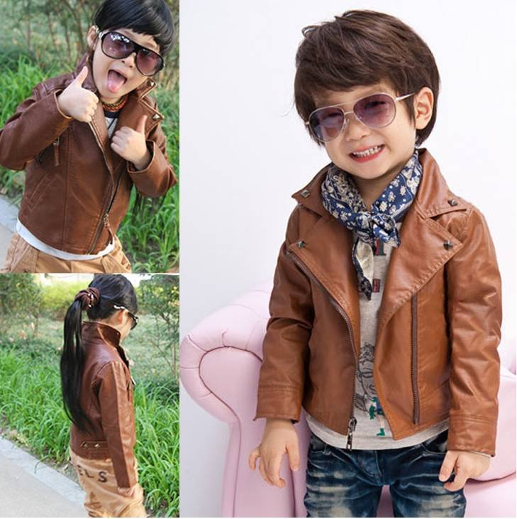 coat fur Picture - More Detailed Picture about child leather wear ...