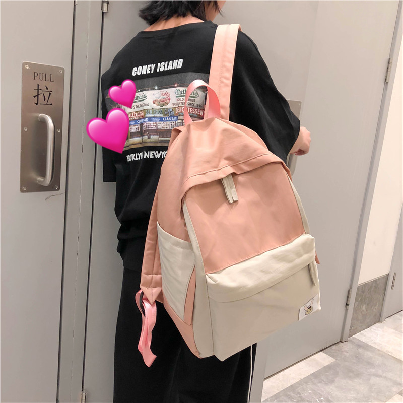 2019 Female High Quality Canvas Travel Backpack Women Mochila Feminina Sac A Dos Back Pack School Bags For Teenage Girl Rucksack