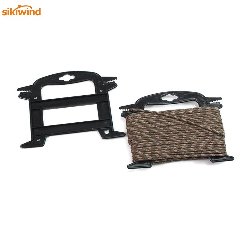 Plastic Winding Line Reel Rig Winders Umbrella Rope Storage Bracket For Camping Outdoor Multipurpose Mini Gadget Hot Sale