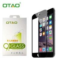 OTAO Real 3D Полное Покрытие Закаленное Стекло Защитная Пленка Для Apple Iphone 6/6 S 4.7 дюймов 9 H Против Царапин С розничный Пакет