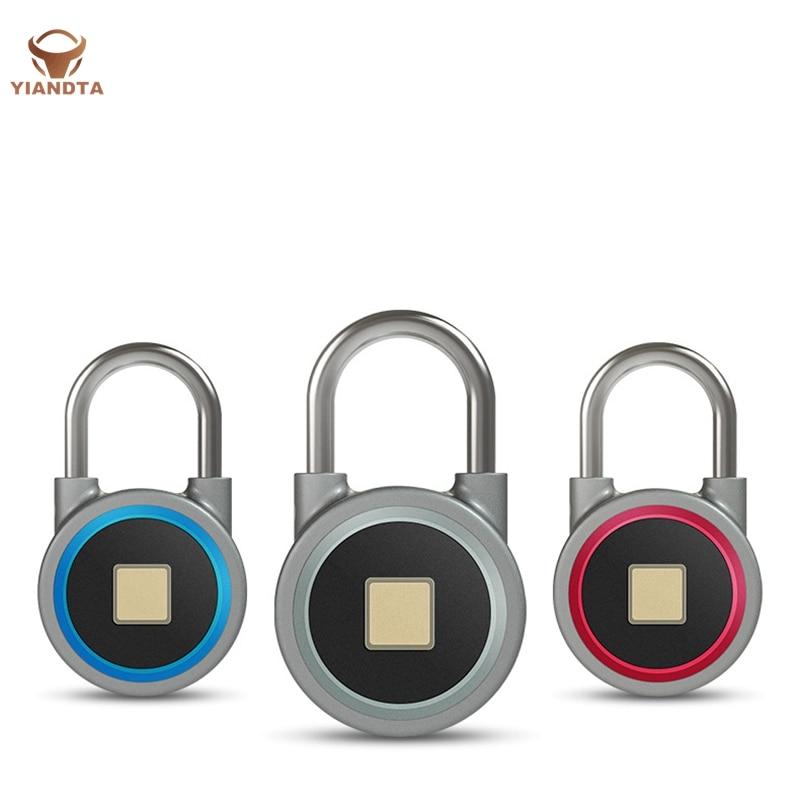 Cadenas d'empreinte digitale APP serrure intelligente sûre et rapide