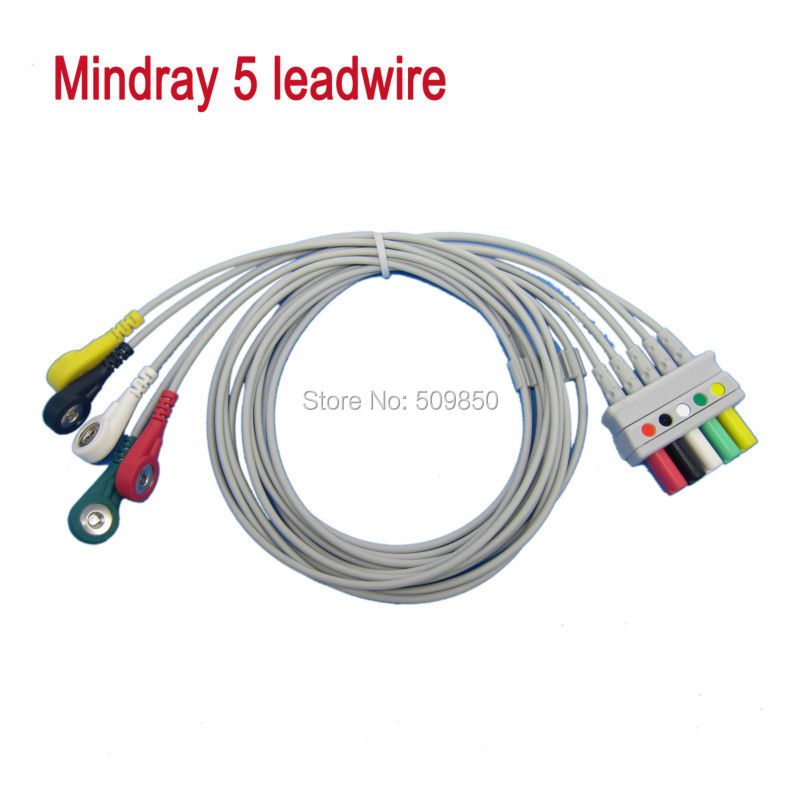 Shiller Welch allyn EKG cable 10 lead ecg cable banana 4.0 on ...