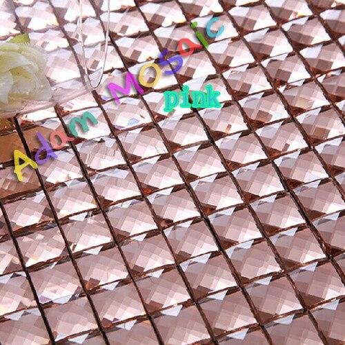 Online Shop Diamant Spiegel Fliesen Bad Abgeschrgte Glas Spiegel Fliesen  Dusche Wandkunst Fliesen Glossy Kche Backsplash Bltter U Bahn Deco  Aliexpress With ...