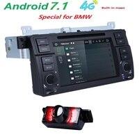 4 Gwifi android7.1 dvd плеер автомобиля для BMW E46 Range Rover Bluetooth Retrofit Наборы с 4 ядра Cortex A9 Радио Клейкие ленты регистраторы BT