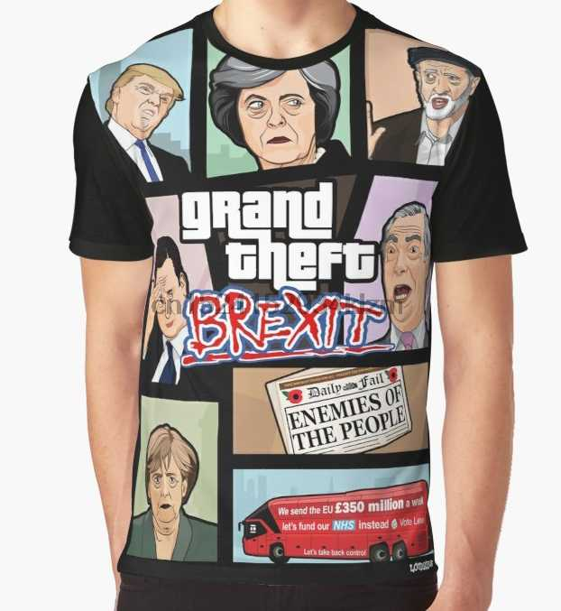 d2d70f38e Detail Feedback Questions about Brexit T Shirt Herren We Can Do It ...