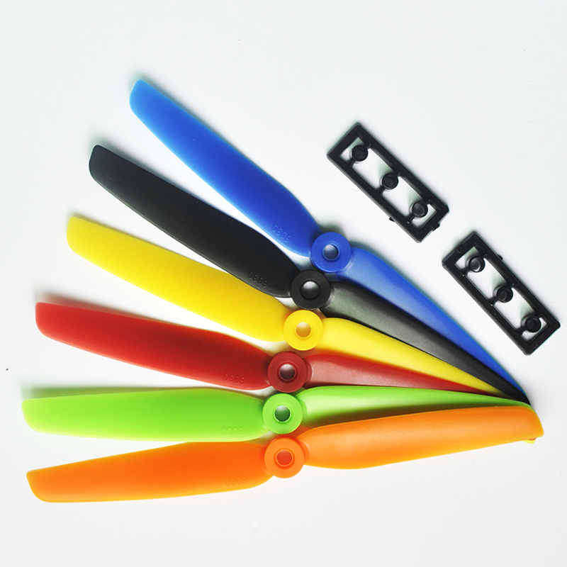 4 Pairs ABS CW/CCW RC 6030 Propeller 2 Blade 6030 Prop T Blade Drone UAV Propeller 6030 for UAV Drone Quadcopter rc airplane DIY купить