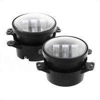 Emark 4 inch LED Fog Lights Spot Beam Front Bumper Lamp for jeep wrangler LED fog lamp auto products Lantsun