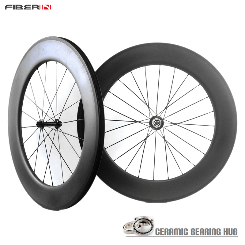 2015 NEW! Ceramic bearing 25mm wide carbon wheels Ultra Light carbon wheels 60mm clincher wheel road bicycle
