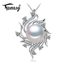 Bohemian Necklace Pearl Jewelry necklaces & pendants Pearl brand fashion necklace women Natural pearl necklace,FENASY