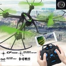 Haute Quqlity JJRC H98WH RC Quadcopter WIFI FPV 2.4 Ghz 4CH 6-axis Drone HD Caméra Noir Cadeau Pour Enfants Livraison gratuite