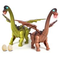 Action Figures Jurassic Tyrannosauru Dragon Dinosaur Toys Plastic Doll Animal Collectible Model Furnishing Electric Toy Gift Kid