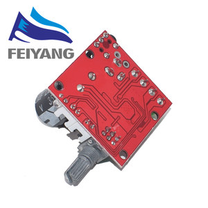 Image 2 - 10PCS 12V Mini Hi Fi PAM8610 Audio Stereo Amplifier Board 2X10W Dual Channel D Class Smart Electronics Hot Sale