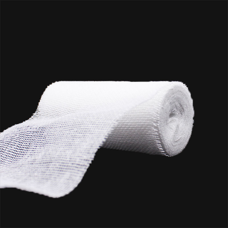 10 Rolls/lot Gauze Bandage Emergency Supplies Wound Dressing Wrap Gauze Roll Household First Aid Nursing Medical Care Bandage