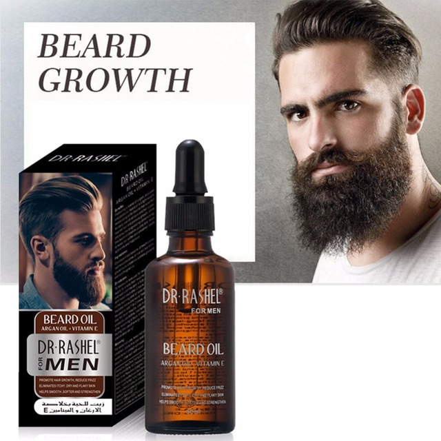Man\'s Beard Care Oil Nourishing Beard Anti-Static Anti-Drying Soften Moustache Beard Oil Razor Equipment
