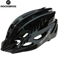 ROCKBROS Bicycle Helmet Men Women Bike Helmet Ultralight Cycling Helmets Visor Sun Brim MTB Road Bike