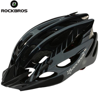 ROCKBROS Bicycle Helmet Men Women Bike Helmet Ultralight Cycling Helmets Visor Sun Brim MTB Road Bike