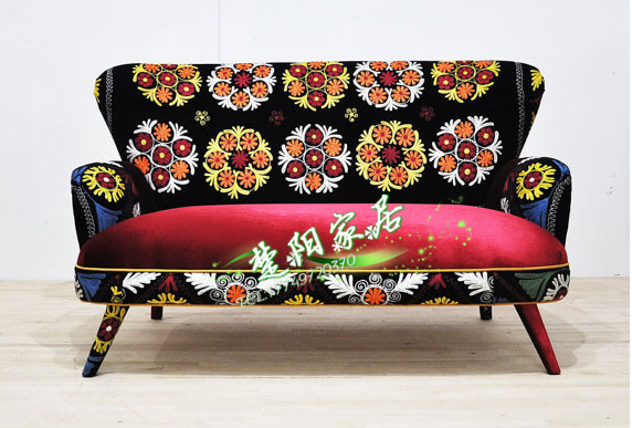 Bohemian Ethnic Sofa New Continental Prints Soft Bag Trade Custom Reception