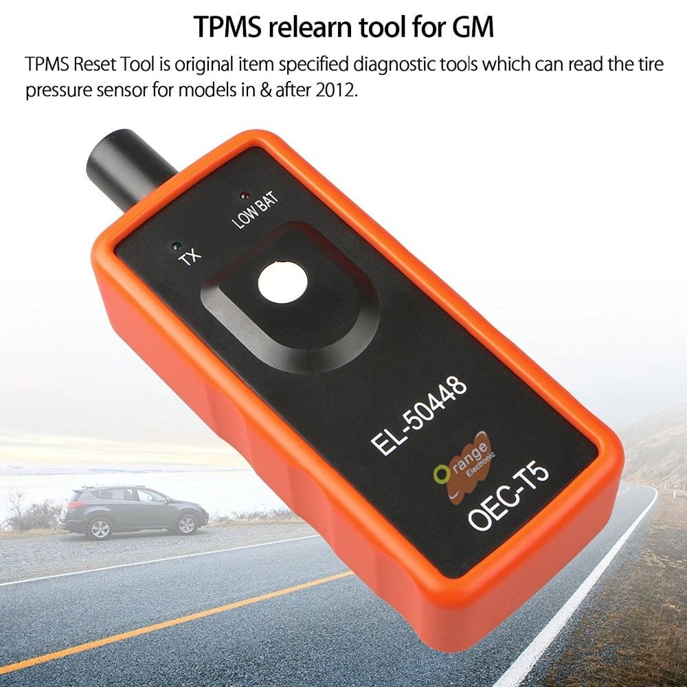 EL-50448 Auto Car Tire Pressure Monitor Sensor Activation TPMS Reset Tool For^+