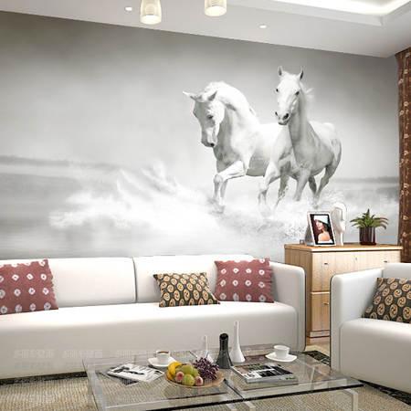 . US  7 1 52  OFF Large Horse Animal Mural 5d Wallpaper Papel Mural for TV  Sofa Background Bedroom 5d Photo Mural Custom 3d Murals Wall paper in