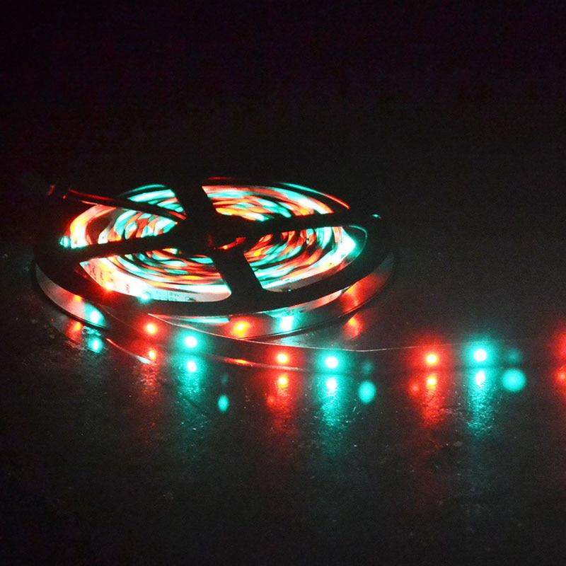 Tiras de Led fiexble luz 60led/m 5 m Geração de Energia : Mudar