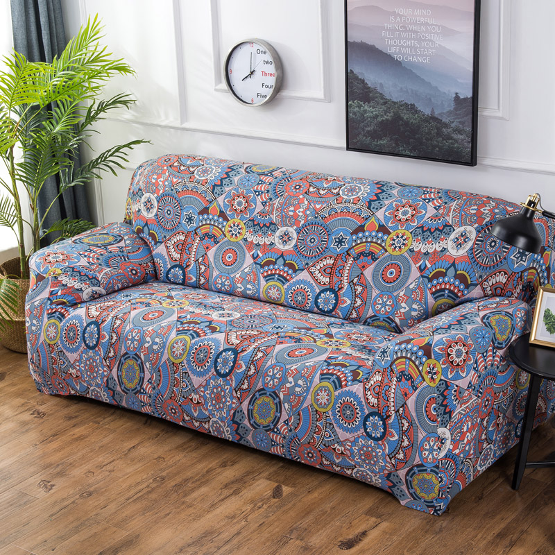 Bohemian Style Elastic Stretch Universal Sofa Covers Sectional Throw Couch Corner Cover Cases For Furniture Armchairs Home Decor In From