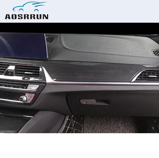 Накладка на центр панели ABS автомобильные аксессуары крышка для BMW G30 G31 528 520 530 2017 2018 2019 LHD