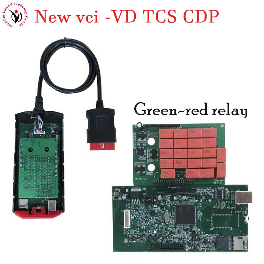 Vci v3.0 PCB. R3 Keygen/. R0+ активировать Bluetooth TCS CDP pro obd2 OBDII OBD II Автосканер автомобилей/грузовиков - Цвет: V9.0 NO BT