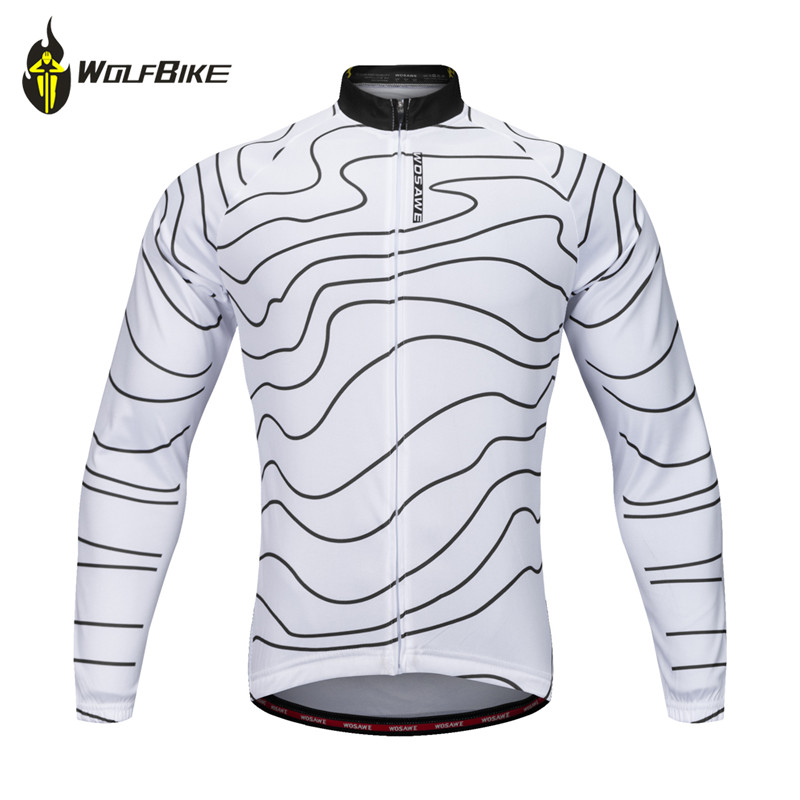 WOSAWE Cycling Long-sleeved Jersey Outdoor bicycle mtb ropa maillot ciclismo hombre motocross sportswear cycling bike clothing cycling jersey bike clothing ropa ciclismo wosawe long sleeve outdoor sport suits mtb bicycle summer bike cycling clothing set
