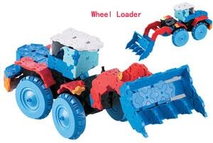 Image 2 - Criativo tecnologia vapor brinquedos blocos 3d tijolos de construção 8 em 1 carro diy kit alunos invenções artesanais experimentos brinquedos vapor