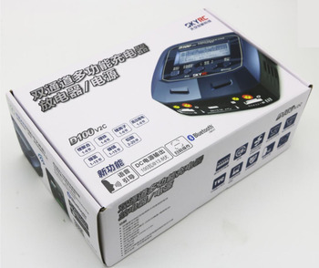 Skyrc D100 V2C Charger Twin-Channel AC/DC LiPo 1-6s 2x100W Dual with Bluetooth Balance Charger Discharge for Lipo Li-ion Battery