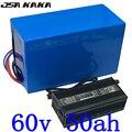 ЕС США нет налога 60 в 50AH литий-ионный аккумулятор ebike 60 в 1500 Вт 2000 Вт 3000 Вт аккумулятор 60 в 50AH Скутер Аккумулятор с 50A BMS и зарядное устройство