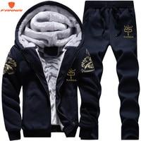 Men's large size M 9XL New Men's Sets Autumn Sports Suit Sweatshirt + Track Pants Clothing For Men 2 pieces Sets Slim Outerwear