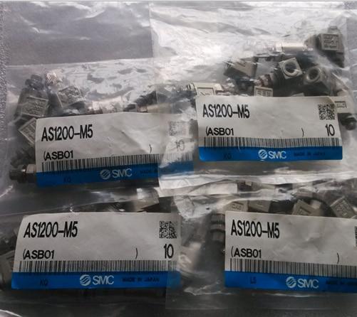 BRAND NEW JAPAN SMC GENUINE SPEED CONTROLLER AS1200-M5 brand new japan smc genuine pressure switch pse561 01
