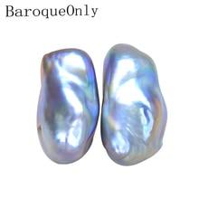 BaroqueOnly 10 20mm schoon oppervlak onregelmatige barokke parel kralen natuurlijke zoetwater paarse parel voor diy sieraden macking BCT