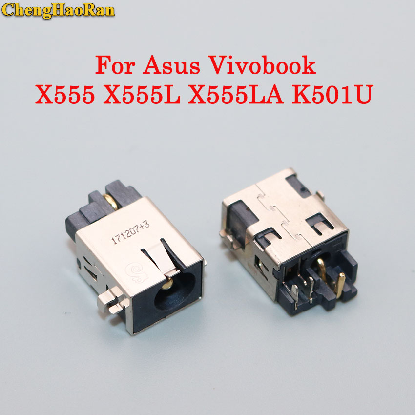 ChengHaoRan DC Jack Power Socket Charging Connector Port For Asus Vivobook X555 X555L X555LA X555LN K501U V301 V301L V301LA