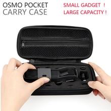 Большая вместительность DJI OSMO Карманный защитный чехол для переноски Портативная сумка для хранения OSMO Карманный ручной карданный держатель аксессуары