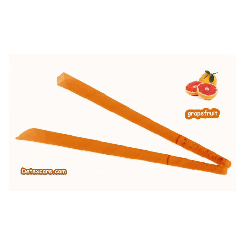 102 pcs/lot,trumpet beewax ear candle,indian ear candling candle,Detexcare, grapefruit scent,with protective disc,CE