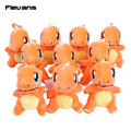 Monster Plush Toys Charmander 11cm Cute Stuffed Plush Pendant Toys Dolls For Kids Birthday Christmas Gift 10pcs/lot
