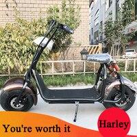 Citycoco электрический скутер велосипед Электрические велосипеды 60 В 1000 Вт супер Новые надежное качество от Прямая Продажа с фабрики с Fat Tire