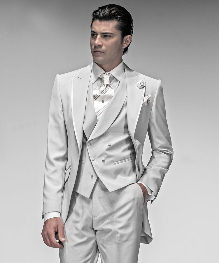 Latest Coat Pant Designs Ivory Double Breasted Men Suit ...