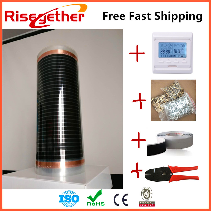 High Quality Floor Heated Adjustable Thermostat For