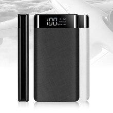 Внешний аккумулятор 20000 мАч, быстрая зарядка, двойной USB внешний аккумулятор, светодиодный дисплей, быстрое портативное зарядное устройство для iPhone, samsung, huawei