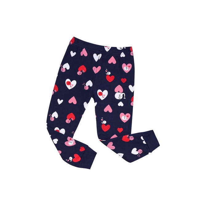 Girl's Embroidered Pajamas Sets